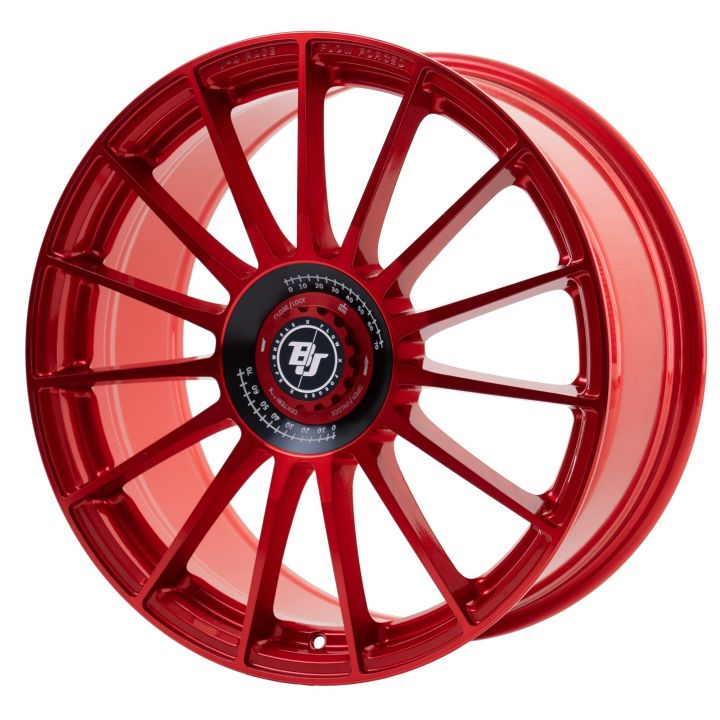 BJ Wheels<br>V4-Race - Red (19x8.5)