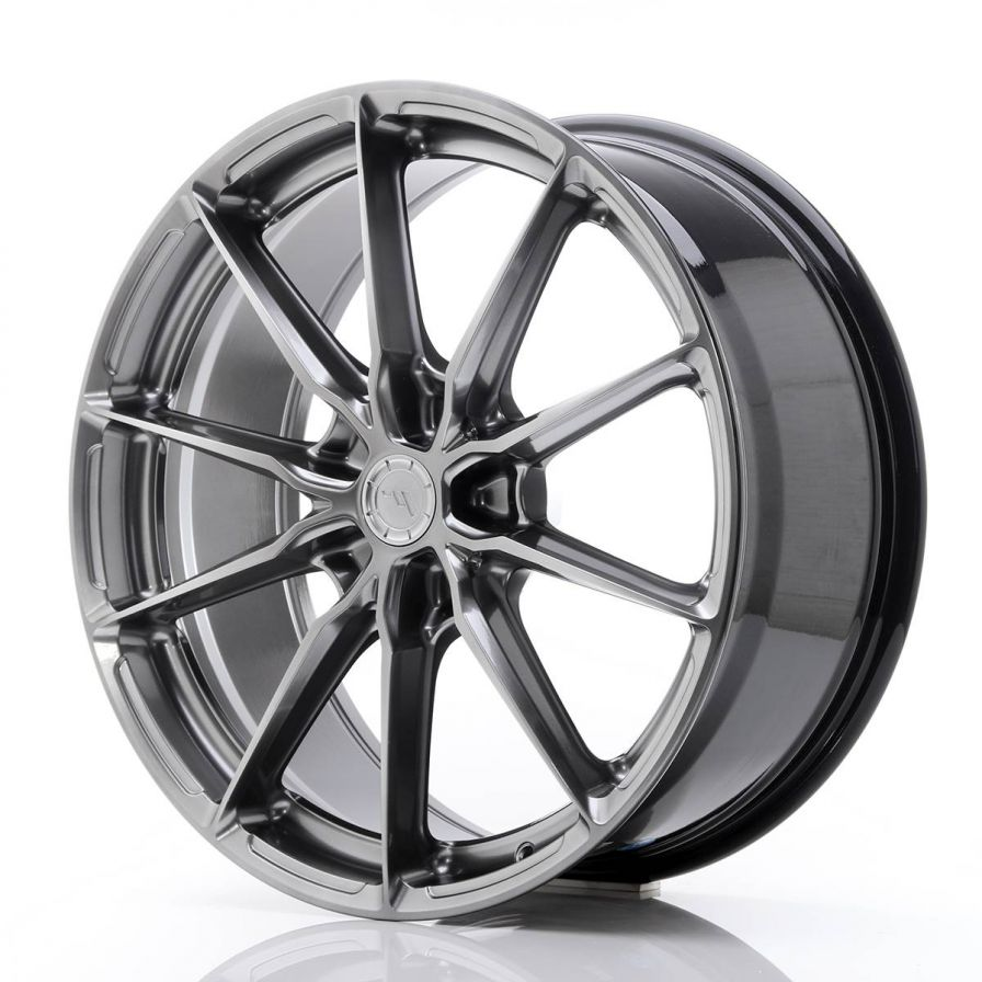 Japan Racing Wheels<br>JR37 Hyper Black (20x8.5)