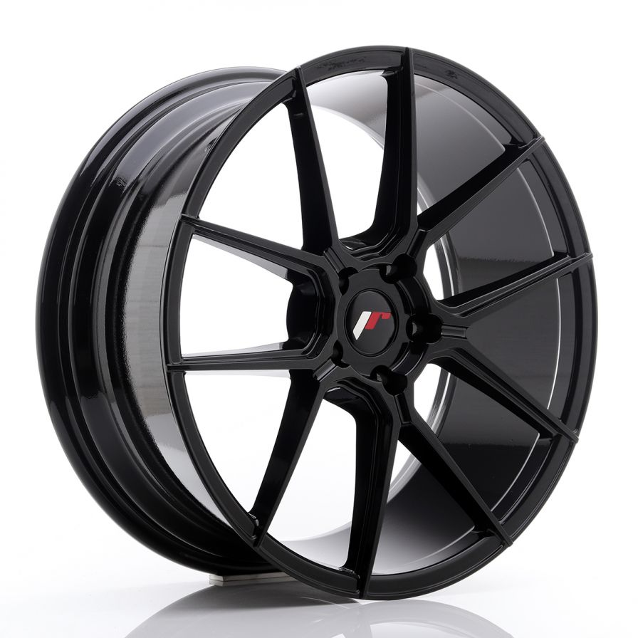 Japan Racing Wheels<br>JR30 Glossy Black (20x8.5)