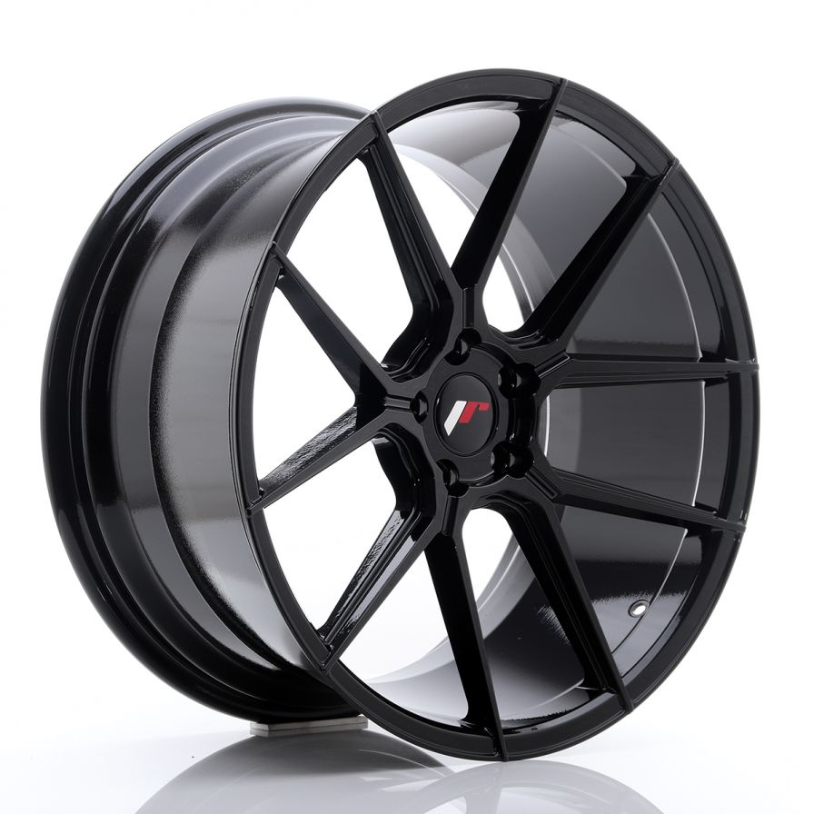 Japan Racing Wheels<br>JR30 Glossy Black (20x10)