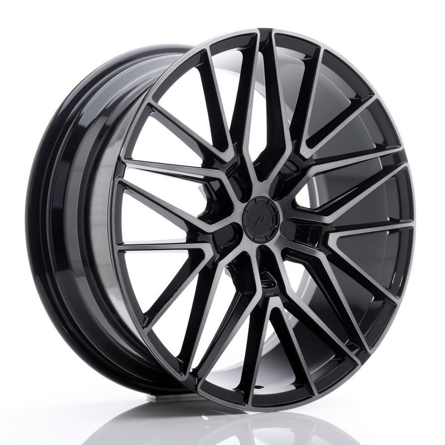 Japan Racing Wheels<br>JR38 Black Brushed (20x8.5)