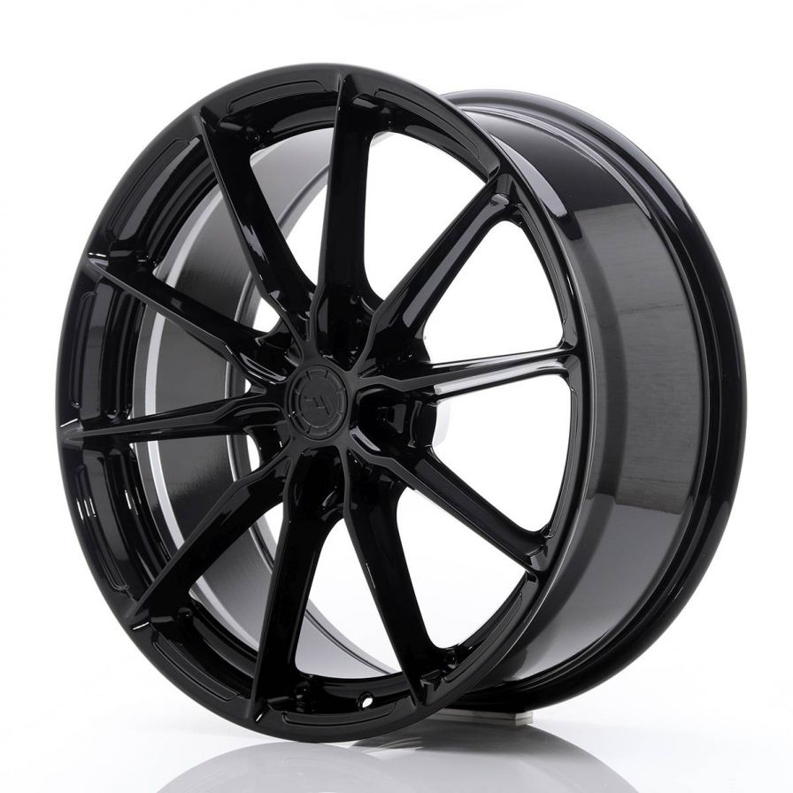 Japan Racing Wheels<br>JR37 Glossy Black (20x8.5)