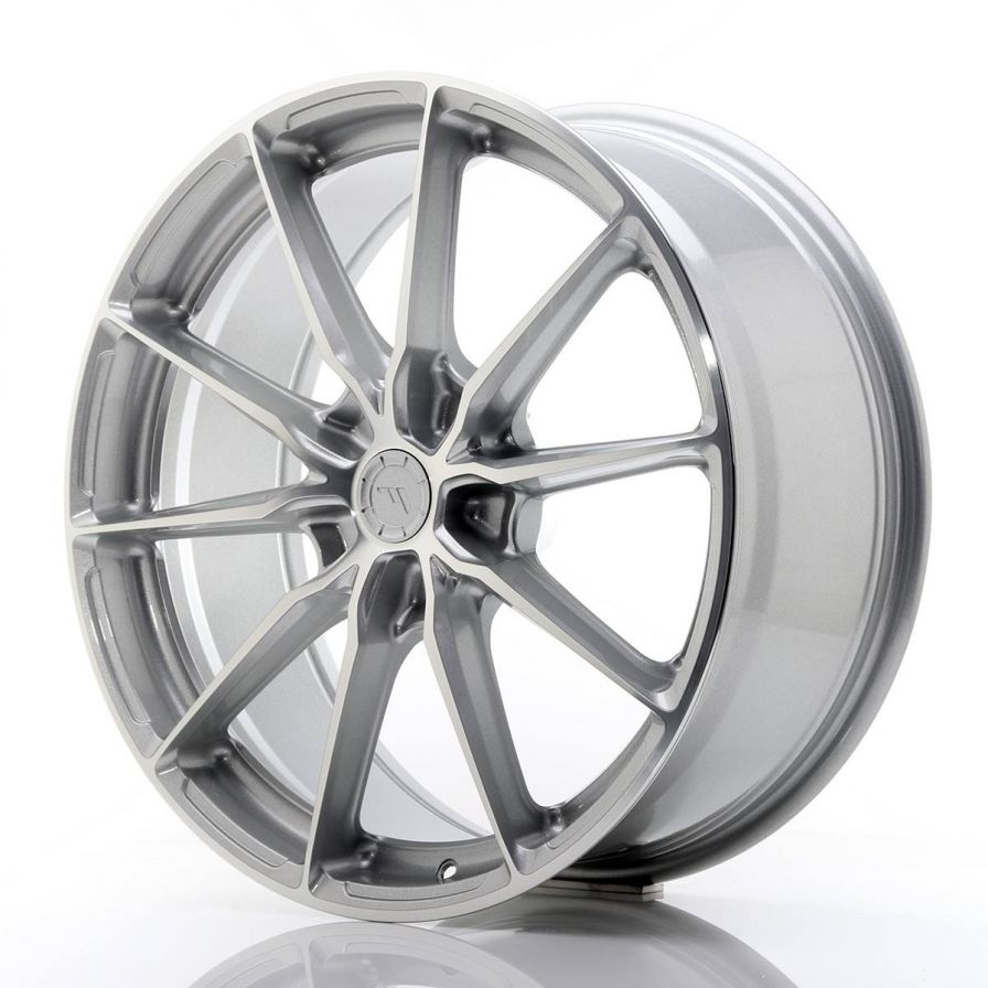 Japan Racing Wheels<br>JR37 Silver Machined (20x8.5)