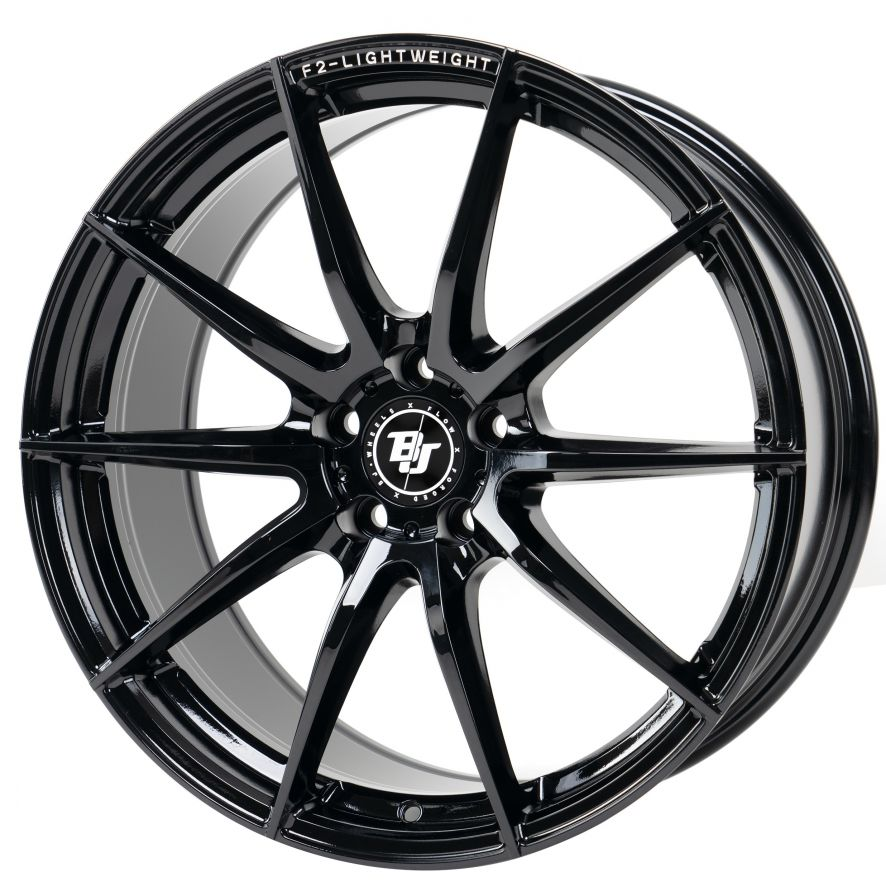 BJ Wheels<br>F2-Lightweight - Black (19x8.5)