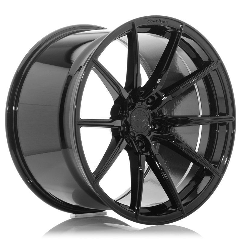 Concaver Wheels<br>CVR4 Platinum Black (20x12)