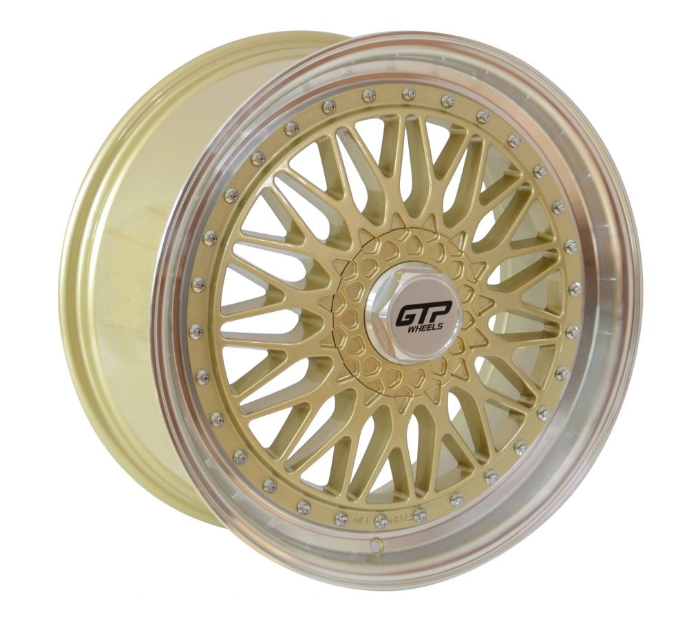 GTP Wheels<br>GTP 042 - Gold poliert (20x8.5)