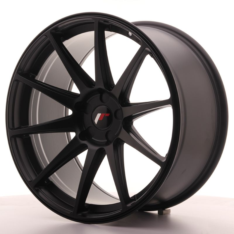 Japan Racing Wheels<br>JR11 Matt Black (20x10)