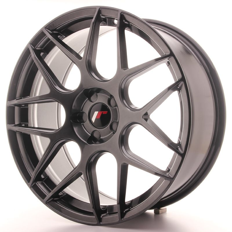 Japan Racing Wheels<br>JR18 Hyper Black (20x8.5)
