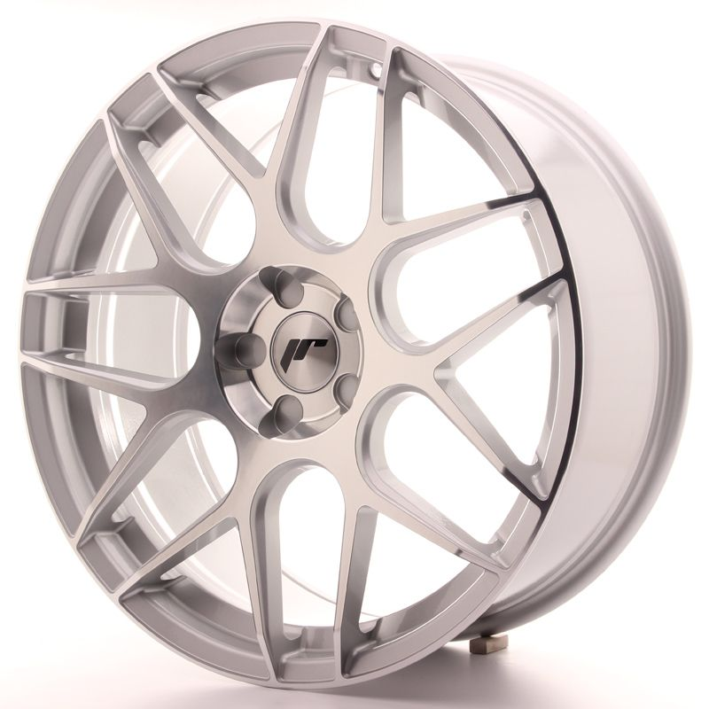 Japan Racing Wheels<br>JR18 Silver Machined (20x8.5)