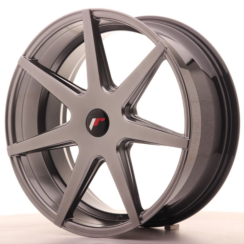 Japan Racing Wheels<br>JR20 Hyper Black (20x8.5)