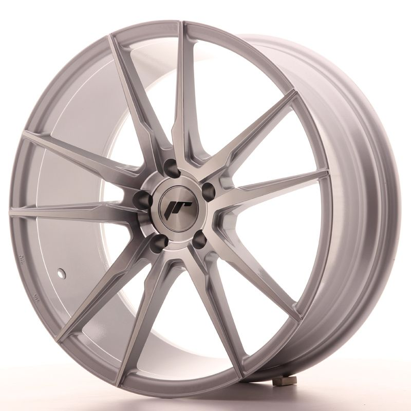 Japan Racing Wheels<br>JR21 Silver Machined (20x8.5)