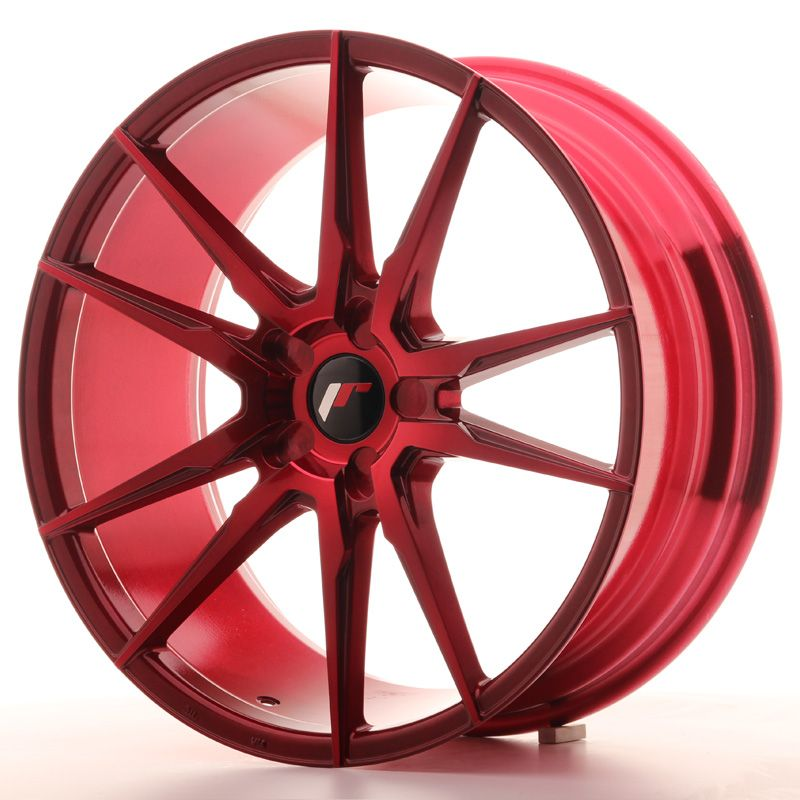 Japan Racing Wheels<br>JR21 Plat Red (20x8.5)