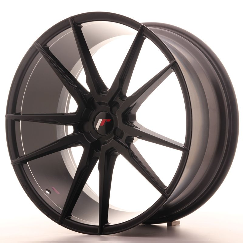 Japan Racing Wheels<br>JR21 Matt Black (22x10.5)