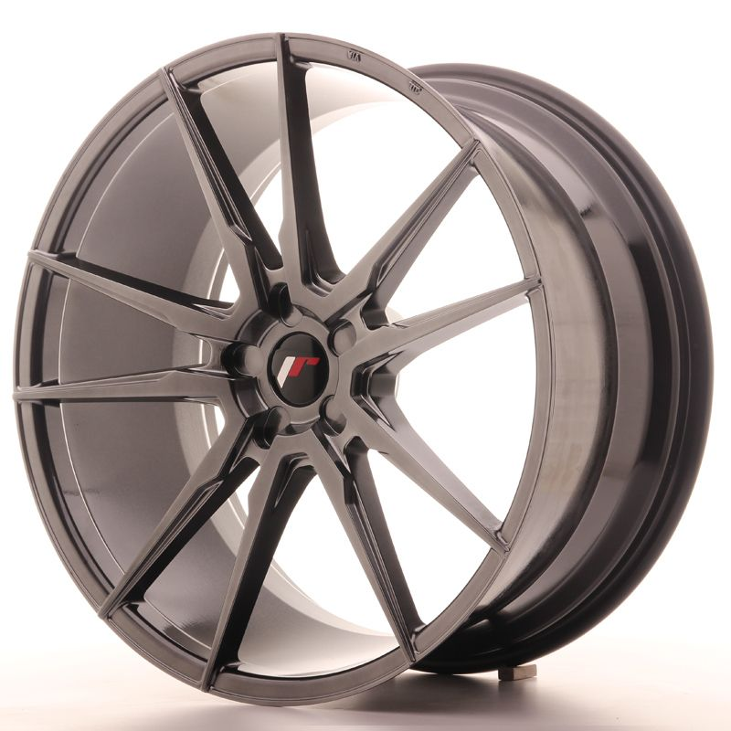 Japan Racing Wheels<br>JR21 Hyper Black (22x10,5)