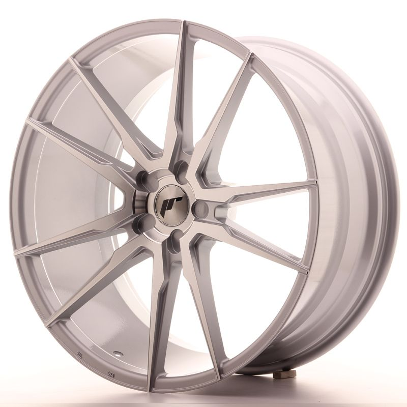 Japan Racing Wheels<br>JR21 Silver Machined (22x10,5)