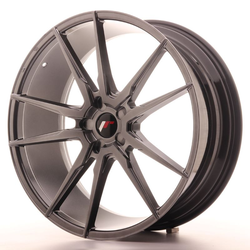 Japan Racing Wheels<br>JR21 Hyper Black (22x9)