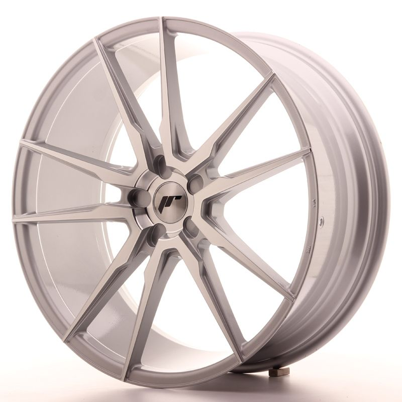 Japan Racing Wheels<br>JR21 Silver Machined (22x9)