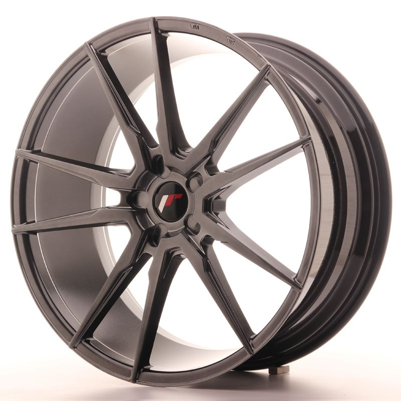 Japan Racing Wheels<br>JR21 Hyper Black (22x9,5)
