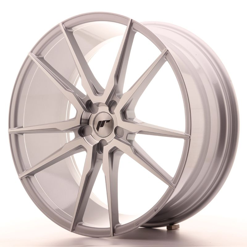 Japan Racing Wheels<br>JR21 Silver Machined (22x9,5)