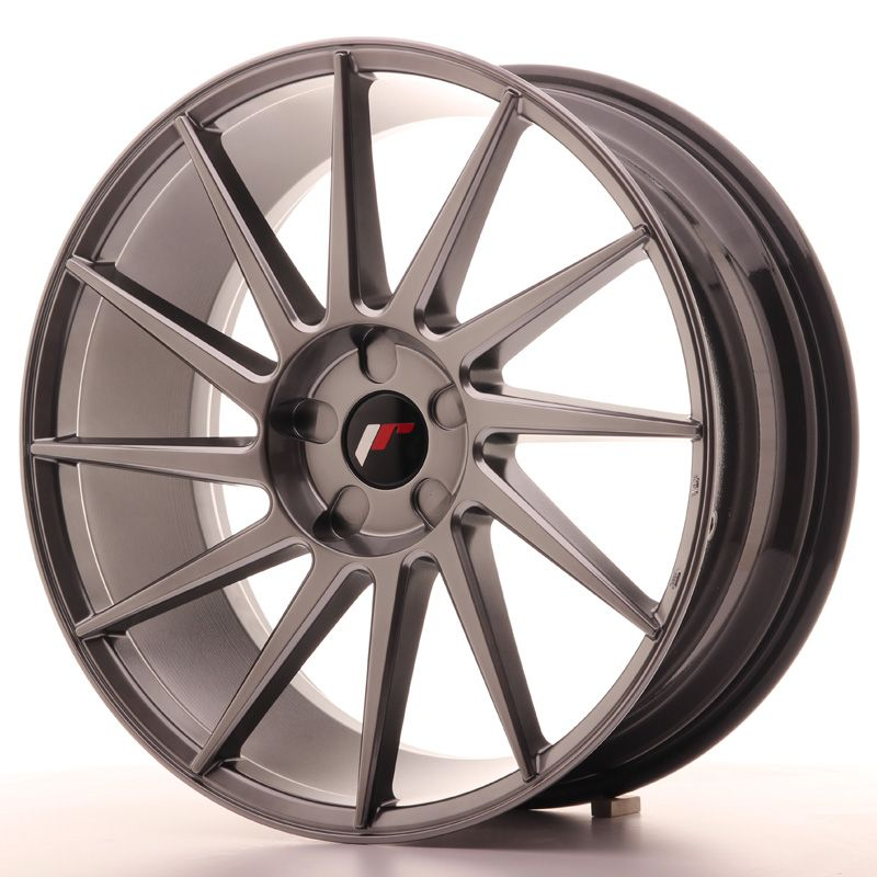 Japan Racing Wheels<br>JR22 Hyper Black (20x8.5)