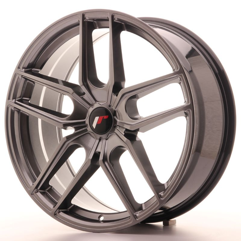 Japan Racing Wheels<br>JR25 Hyper Black (20x8.5)