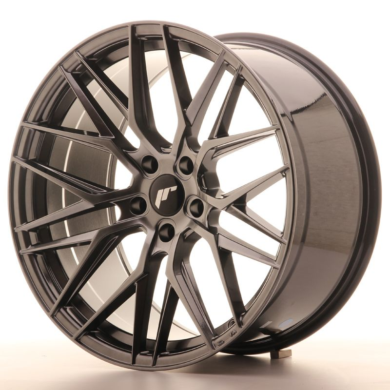 Japan Racing Wheels<br>JR28 Hyper Black (20x10)