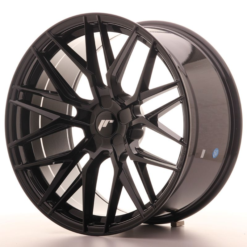 Japan Racing Wheels<br>JR28 Glossy Black (20x10)