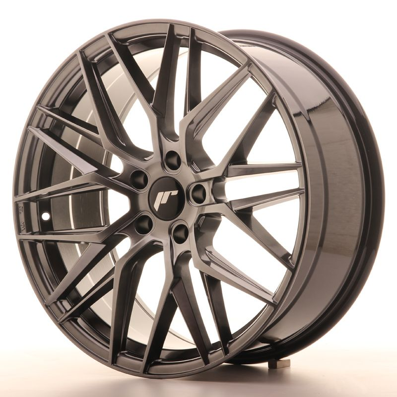 Japan Racing Wheels<br>JR28 Hyper Black (20x8.5)