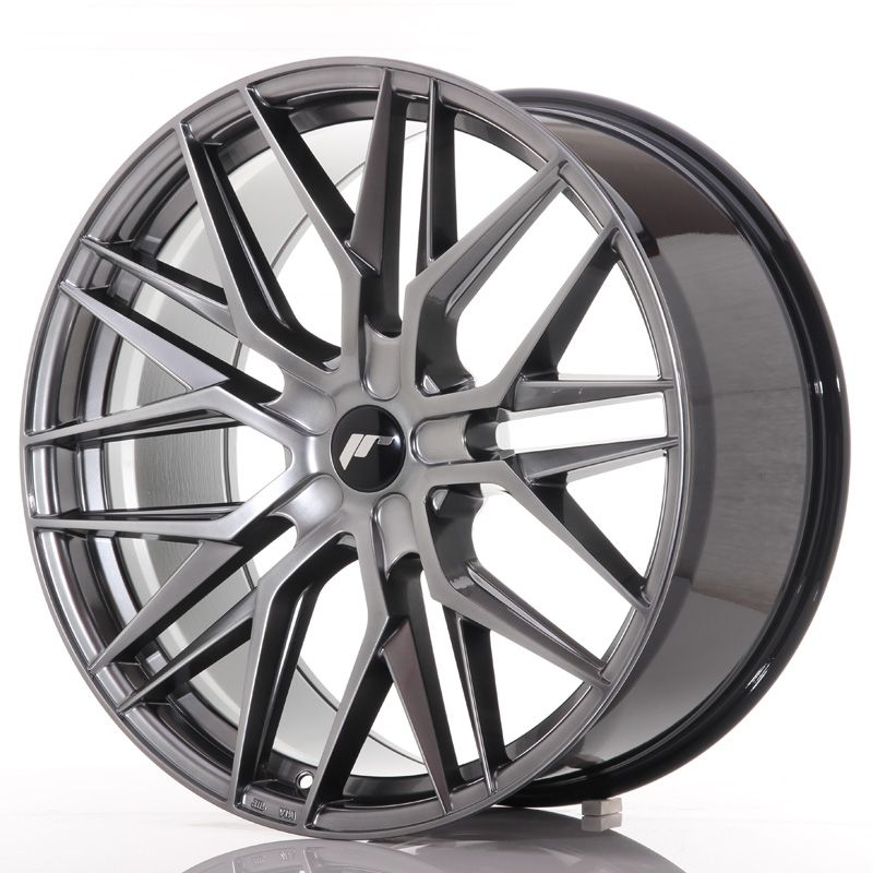 Japan Racing Wheels<br>JR28 Hyper Black (22x10.5)