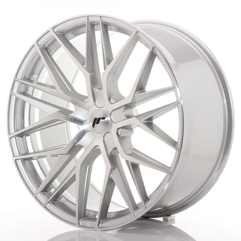 Japan Racing Wheels<br>JR28 Silver Machined (22x10.5)