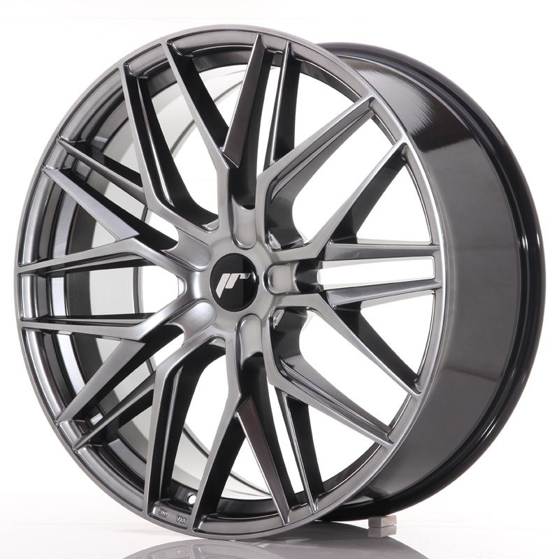 Japan Racing Wheels<br>JR28 Hyper Black (22x9)