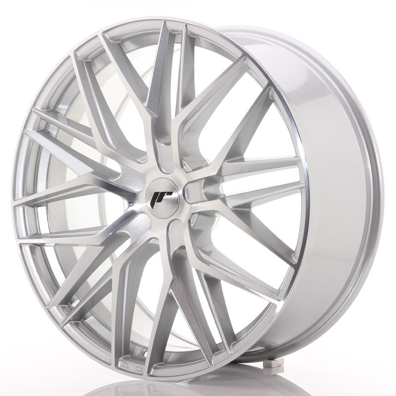 Japan Racing Wheels<br>JR28 Silver Machined (22x9)