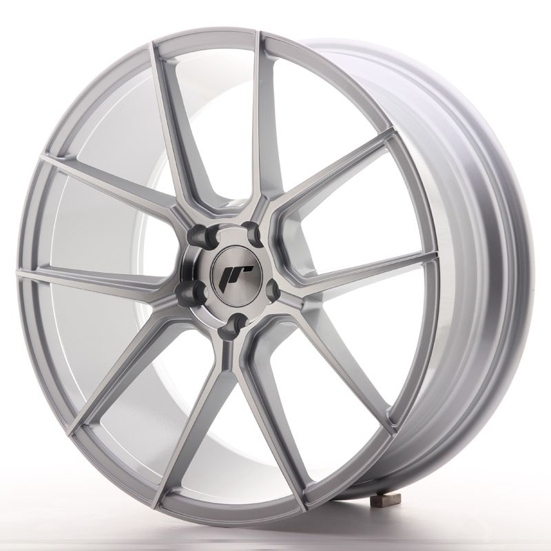 Japan Racing Wheels<br>JR30 Silver Machined (20x8.5)