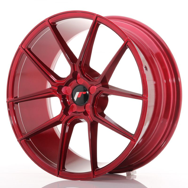 Japan Racing Wheels<br>JR30 Plat Red (20x8.5)