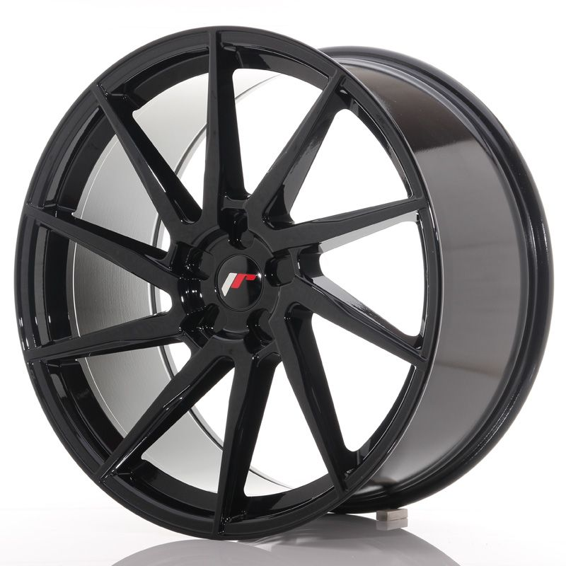 Japan Racing Wheels<br>JR36 Glossy Black (22x10.5)
