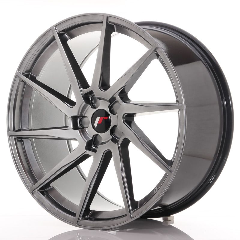 Japan Racing Wheels<br>JR36 Hyper Black (22x10.5)