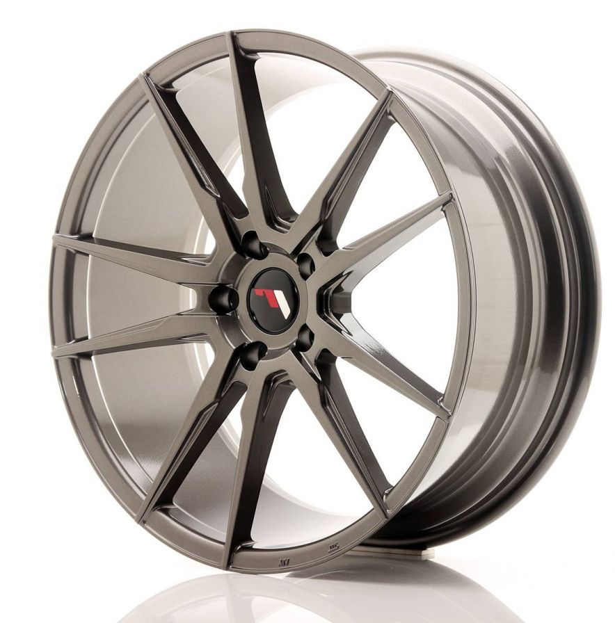 Japan Racing Wheels<br>JR21 Hyper Gray (20x8.5)