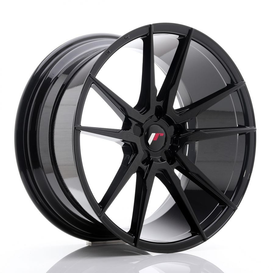 Japan Racing Wheels<br>JR21 Glossy Black (20x10)