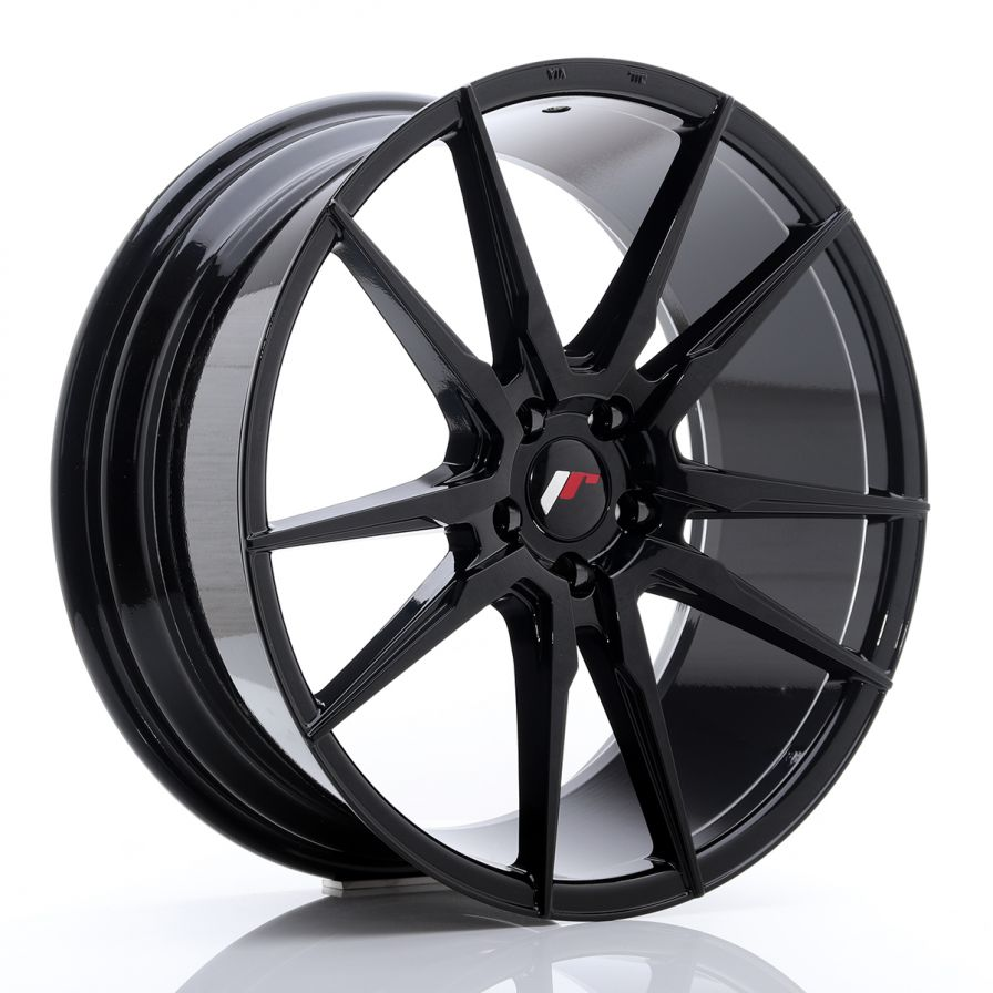 Japan Racing Wheels<br>JR21 Glossy Black (20x8.5)