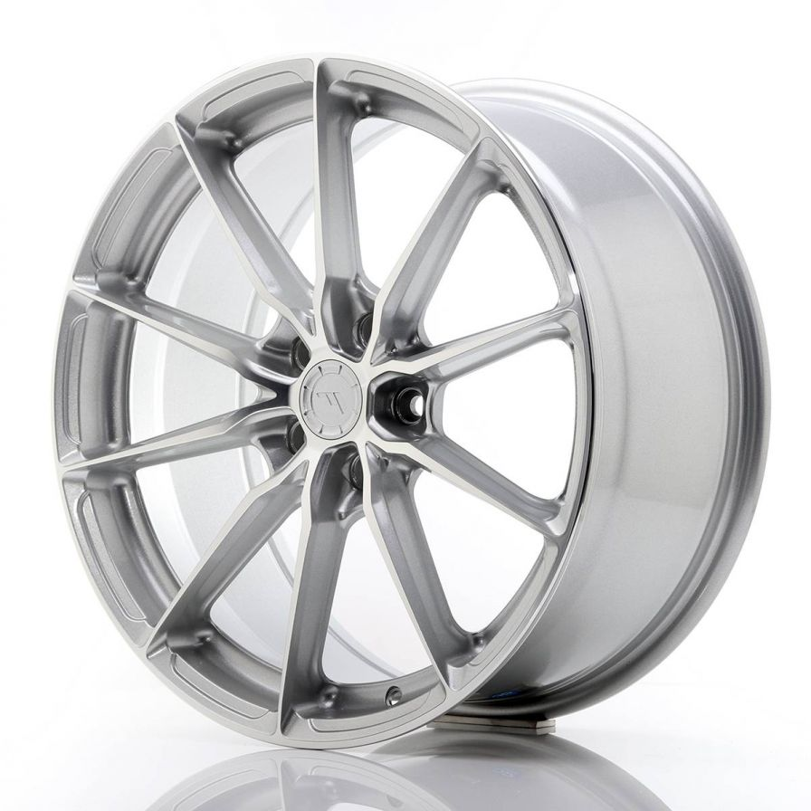 Japan Racing Wheels<br>JR37 Silver Machined (19x8.5)