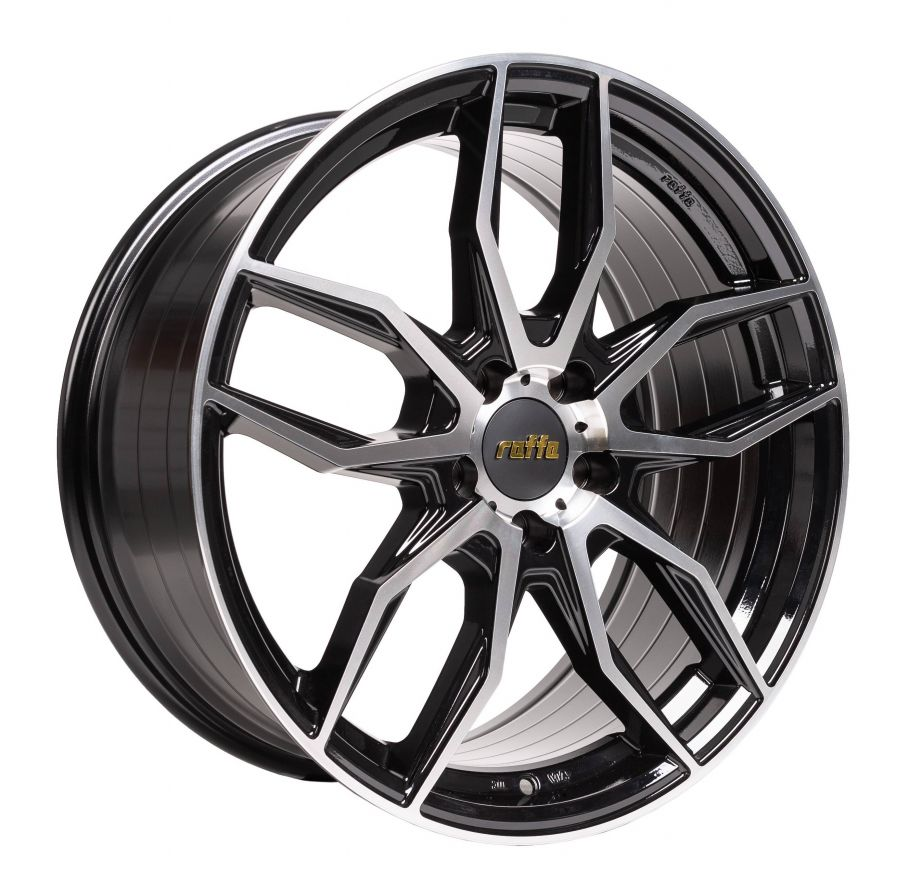 Raffa Wheels<br>RS-04 Glossy Black Polished (20x8.5)